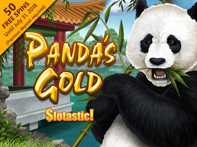 Get 50 Free Spins On Rtg S New Panda S Gold At Slotastic
