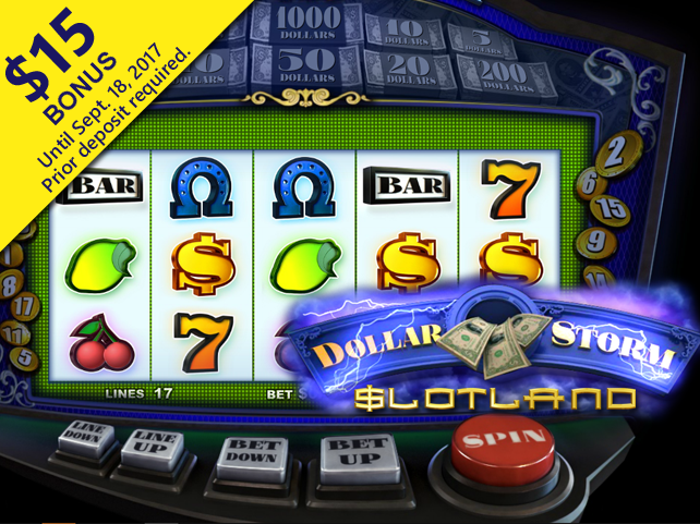 The Dollar Storm Slot is Coming to Slotland Casino